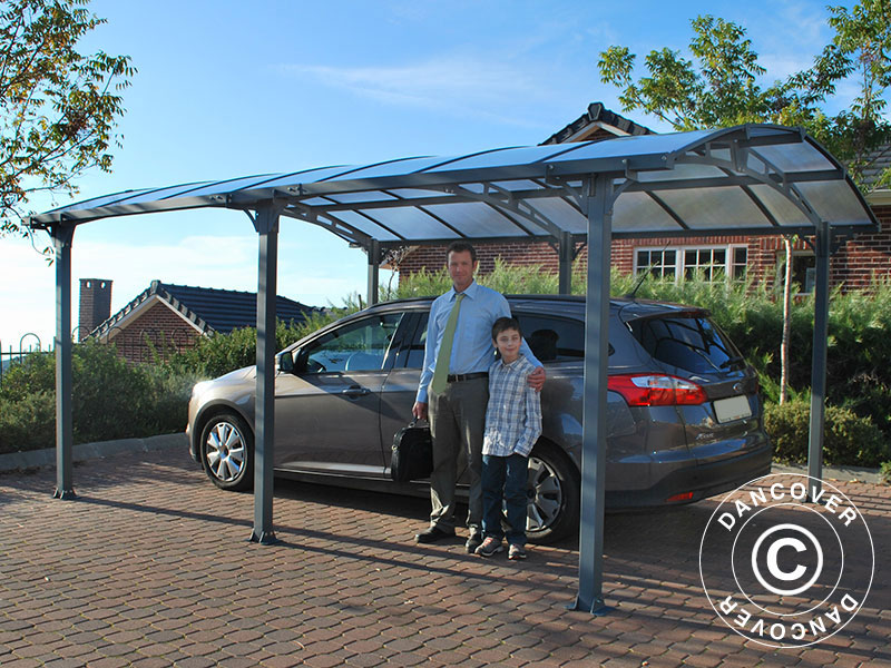 En carport fra Dancover beskytter bilen din hver eneste dag