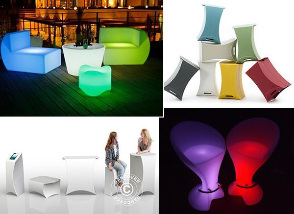 Stilige møbler til ditt neste arrangement