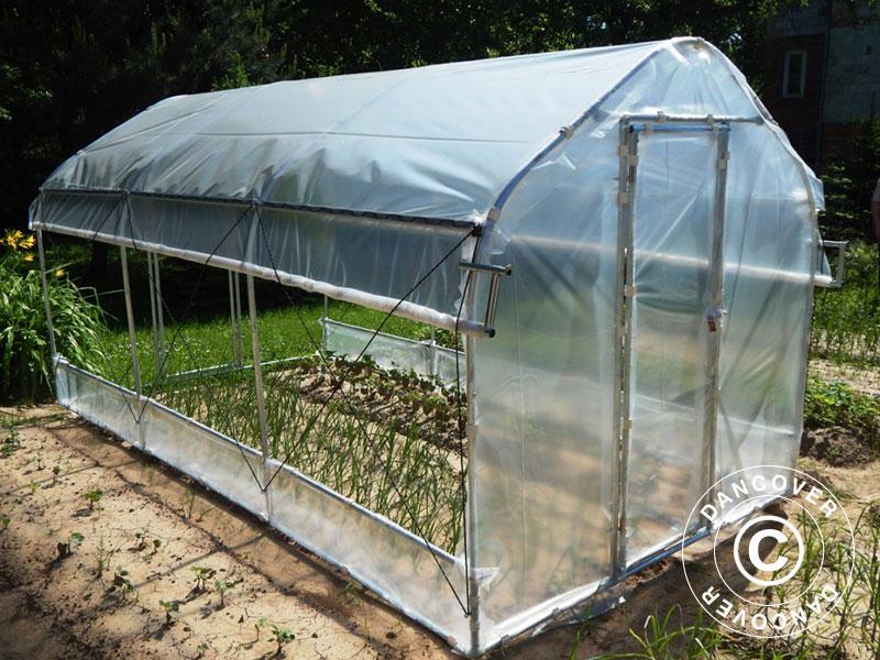 Polytunnel drivhus vil skape underverker i hagen din