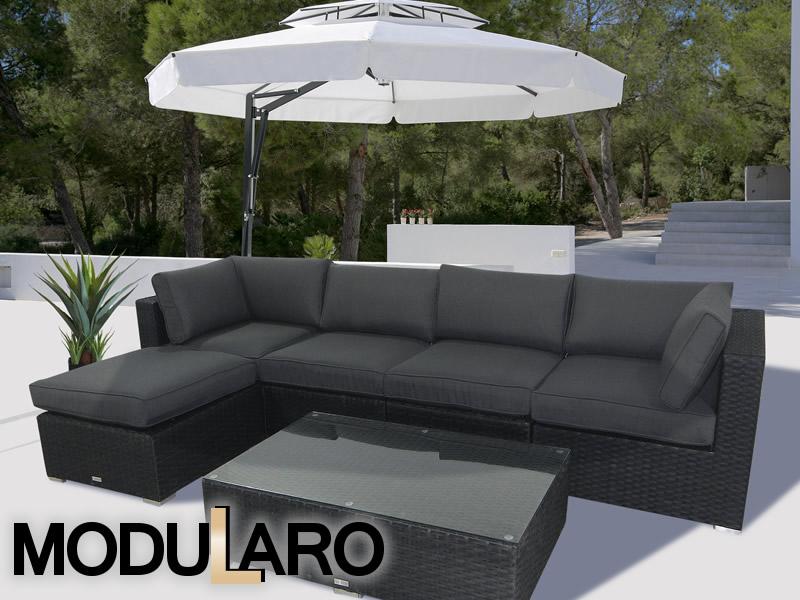 Hagemøbler i polyrotting i et unikt modulbasert konsept