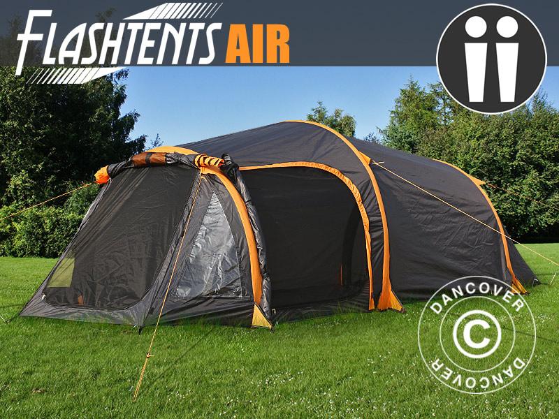 Oppblåsbare telt fra Dancover – camping gjort enkelt