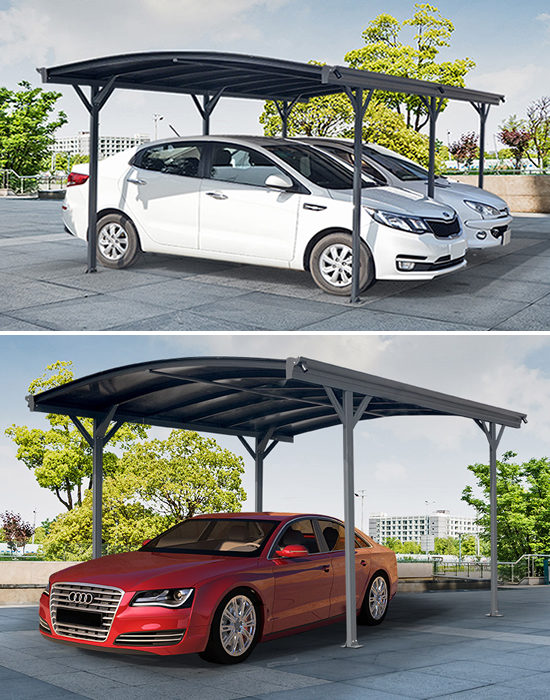 Carport til å beskytte bilen og andre ting